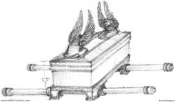 Click to enlarge Brent Kington's rendering of the Ark of the Covenant