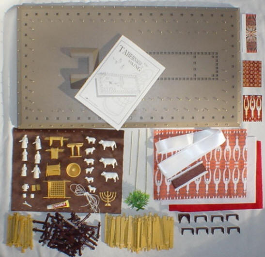 photo of tabernacle kit parts